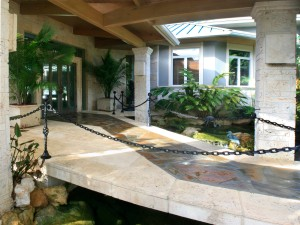 HAWAIIAN-STYLE RIVERFRONT COMPOUND, TREASURE COAST, FLORIDA