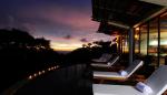 Ocean Villa nightfall